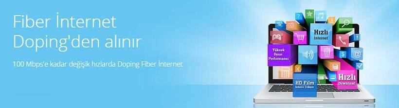 doping fiber internet