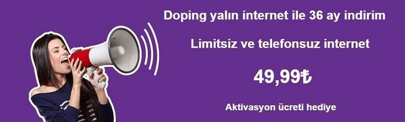 doping yalın internet