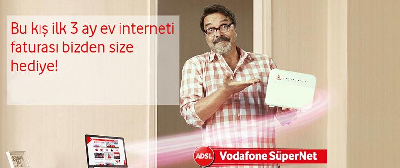Vodafone Yalin Internet Simdi Ilk 3 Ay Bedava
